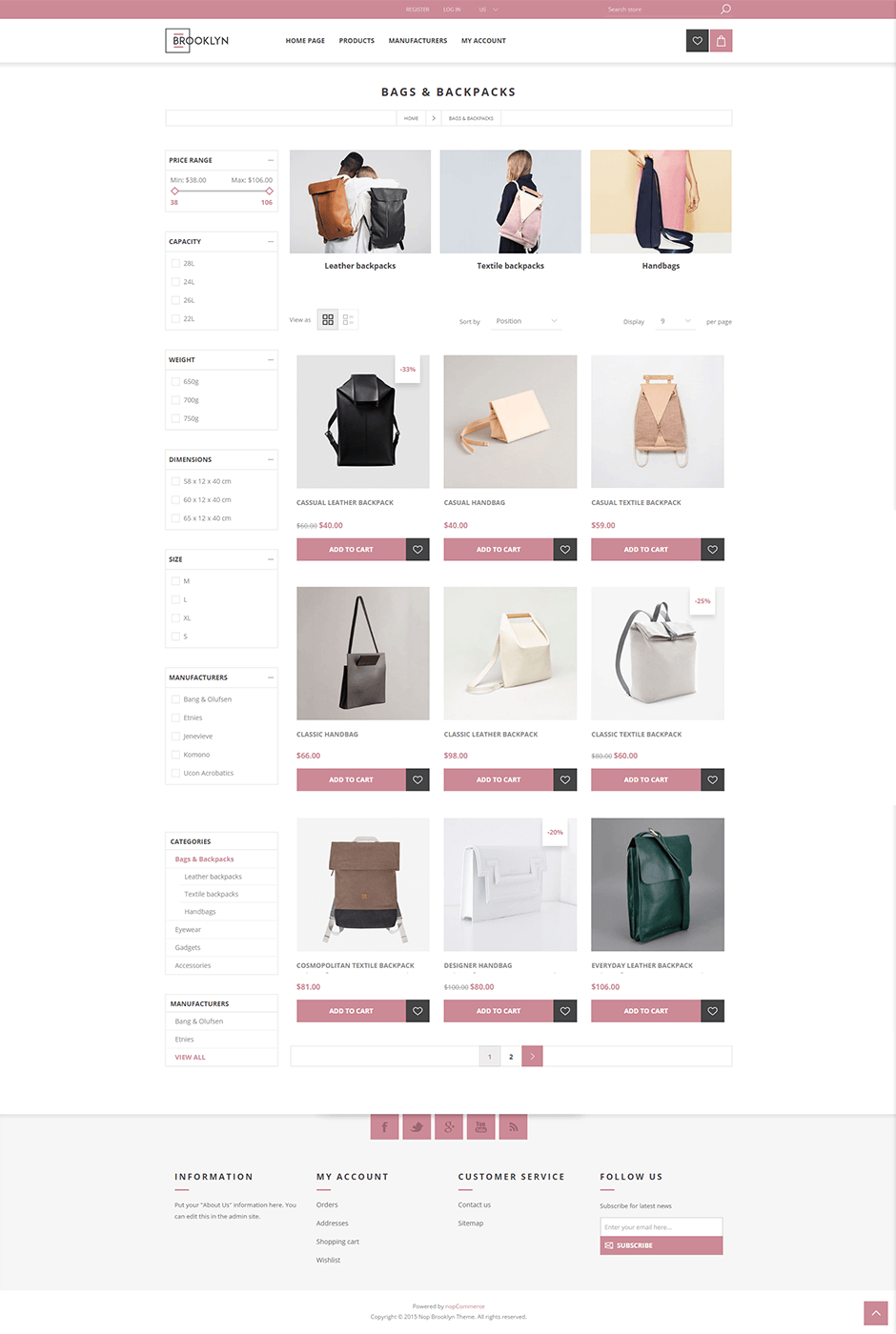 Nop Brooklyn Responsive Theme
