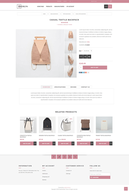 Brooklyn Theme - Product Page Variant 2
