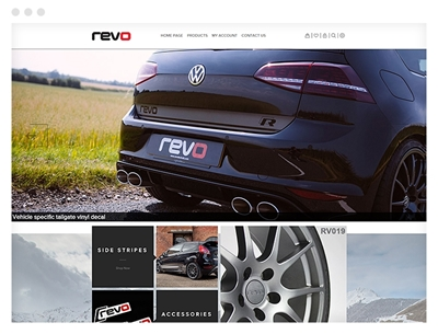 revo using nop urban theme