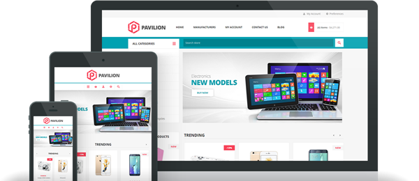 Preview of Pavilion Theme for nopCommerce