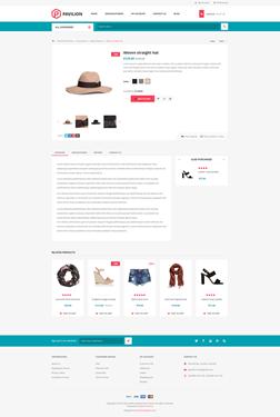 Pavilion Theme - Product Page