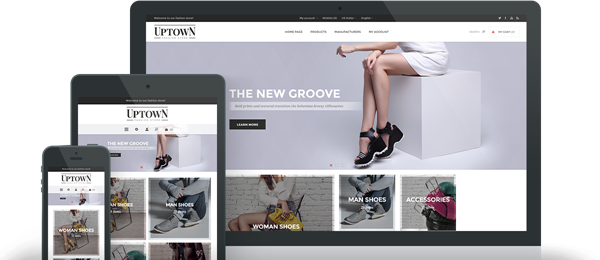 Preview of Uptown Theme for nopCommerce