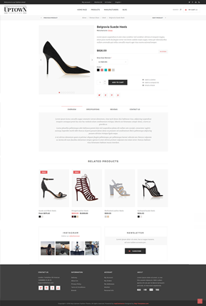 Uptown Theme - Product Page