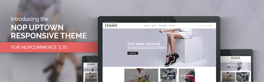 Bold, modern, functional – meet the new Nop Uptown Theme for nopCommerce