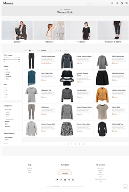 Picture of Nop Minimal Responsive Theme