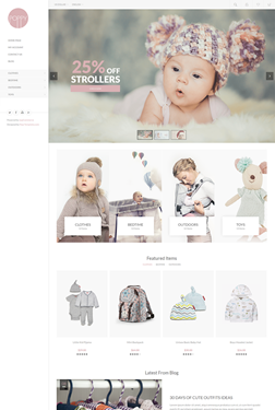 Poppy Theme - Home Page
