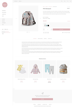 Poppy Theme - Product Page