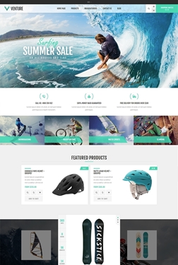 Picture of Nop Venture Responsive Theme