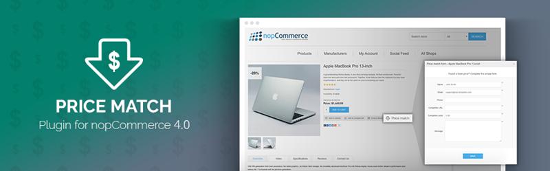 Nop Price Match plugin released for nopCommerce 4.0