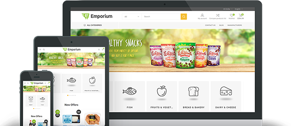 Preview of Emporium Theme for nopCommerce
