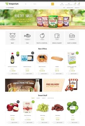 Emporium Theme - Home Page Variant 1