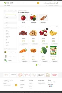 Emporium Theme - Category Page