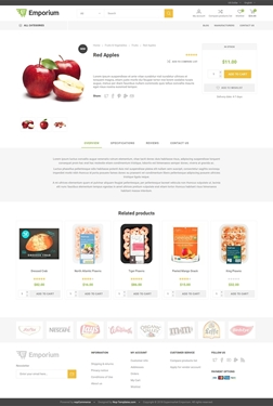 Emporium Theme - Product Page
