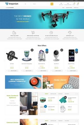 Emporium Theme - Home Page Variant 2