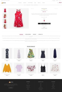 Avenue Theme - Product Page Variant 2