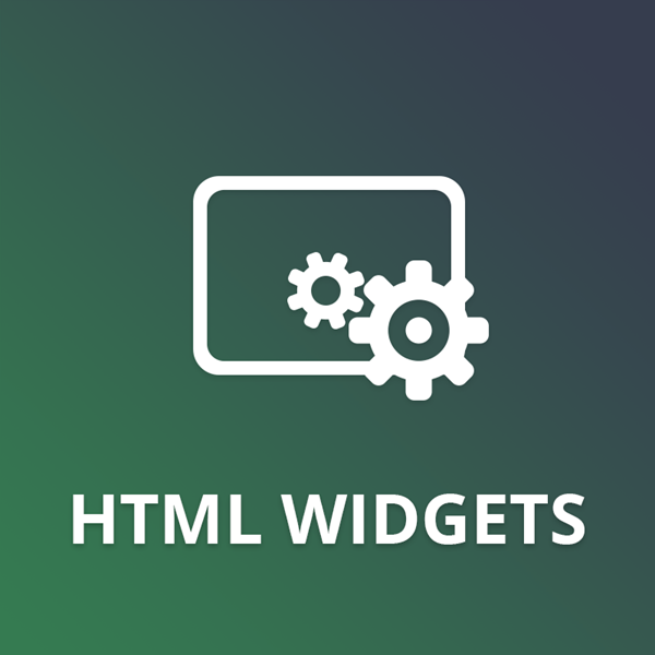 HTML Widgets plugin for nopCommerce