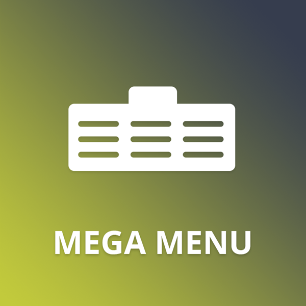 Mega Menu plugin for nopCommerce