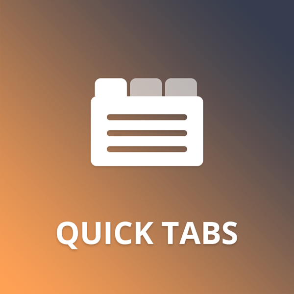 Quick Tabs plugin for nopCommerce