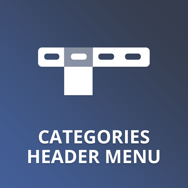 Categories Header Menu plugin for nopCommerce