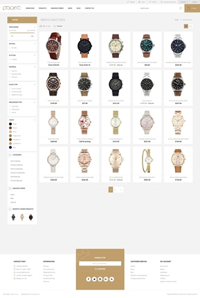 Pacific Theme for nopCommerce - Category Page