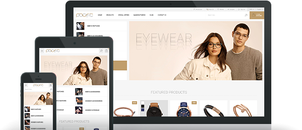 Pacific Theme for nopCommerce
