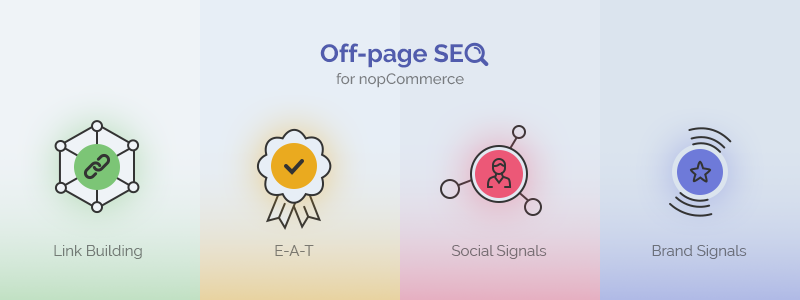 The Four Pillars of Off-page SEO for NopCommerce