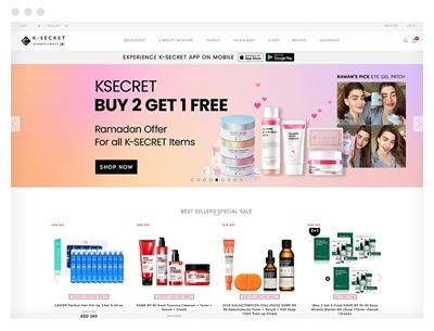 ksecret uses avenue theme