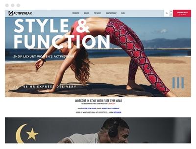 mgactivewear uses venture theme